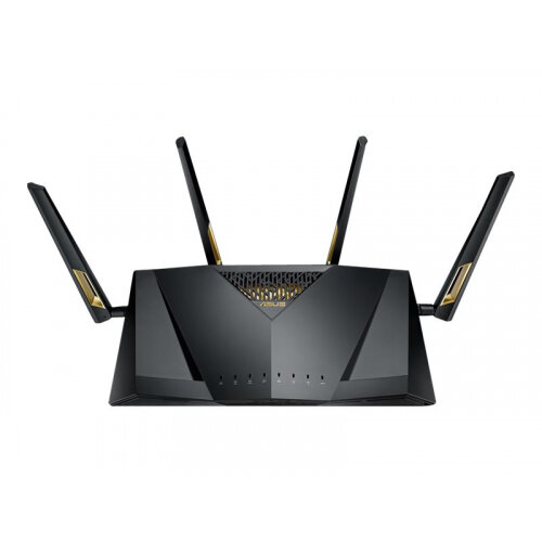 ASUS RT-AX88U - Wireless router - 8-port switch - GigE, 802.11ax - 802.11a/b/g/n/ac/ax - Dual Band