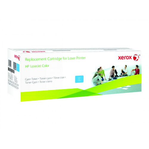 Xerox - Cyan - drum kit (alternative for: HP 824A, HP CB385A) - for HP Color LaserJet CL2000, CM6030, CM6040, CP6015
