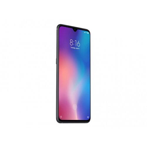 Xiaomi MI 9 - Smartphone - dual-SIM - 4G LTE Advanced - 64 GB - CDMA / GSM - 6.39&uot; - 2340 x 1080 pixels (430 ppi) - AMOLED - RAM 6 GB (20 MP front camera) - 2x rear cameras - Android - piano black
