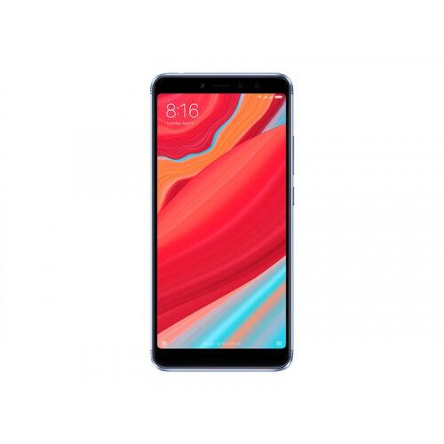 Xiaomi Redmi S2 - Smartphone - dual-SIM - 4G LTE - 32 GB - microSDHC slot, - microSDXC slot - GSM - 5.99&uot; - 1440 x 720 pixels (269 ppi) - RAM 3 GB (16 MP front camera) - 2x rear cameras - Android - blue