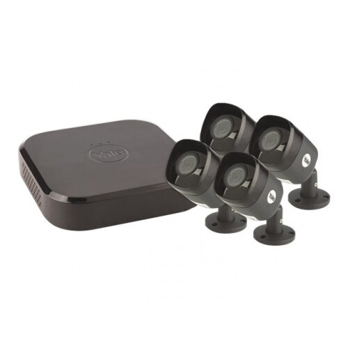 Yale Smart Home CCTV Kit XL - DVR + camera(s) - wired - LAN - 8 channels - 1 x 2 TB - 4 camera(s)