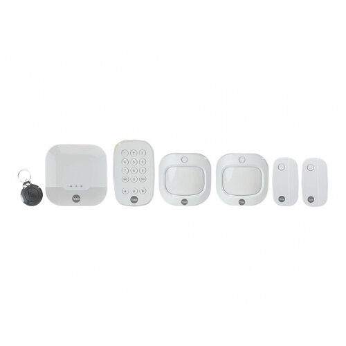 Yale Smart Living Sync Smart Home Alarm - Family Kit Plus - home security system - wireless, wired - 868 MHz