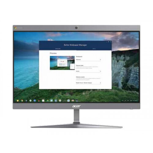 Acer Chromebase CA24I2 - All-in-one - 1 x Core i5 8250U / 1.6 GHz - RAM 12 GB - SSD 128 GB - UHD Graphics 620 - GigE - WLAN: 802.11a/b/g/n/ac, Bluetooth 4.2 - Chrome OS - monitor: LED 23.8&uot; 1920 x 1080 (Full HD) touchscreen