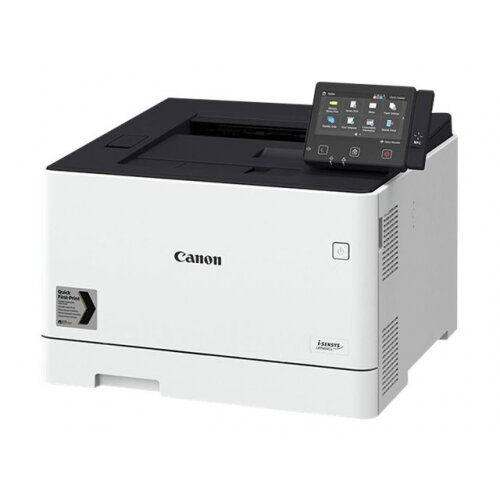 Canon i-SENSYS LBP664Cx - Printer - colour - Duplex - laser - A4/Legal - 1200 x 1200 dpi - up to 27 ppm (mono) / up to 27 ppm (colour) - capacity: 300 sheets - USB 2.0, Gigabit LAN, Wi-Fi(n), USB host, NFC