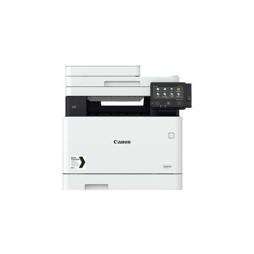 Canon i-SENSYS MF746Cx - Multifunction printer - colour - laser - A4 (210 x 297 mm), Legal (216 x 356 mm) (original) - A4/Legal (media) - up to 27 ppm (copying) - up to 27 ppm (printing) - 300 sheets - 33.6 Kbps - USB 2.0, Gigabit LAN, Wi-Fi(n), USB host,