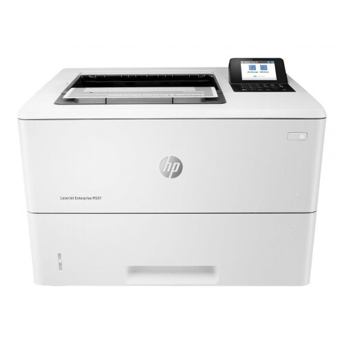 HP LaserJet Enterprise M507dn - Printer - monochrome - Duplex - laser - A4/Legal - 1200 x 1200 dpi - up to 43 ppm - capacity: 650 sheets - USB 2.0, Gigabit LAN, USB 2.0 host