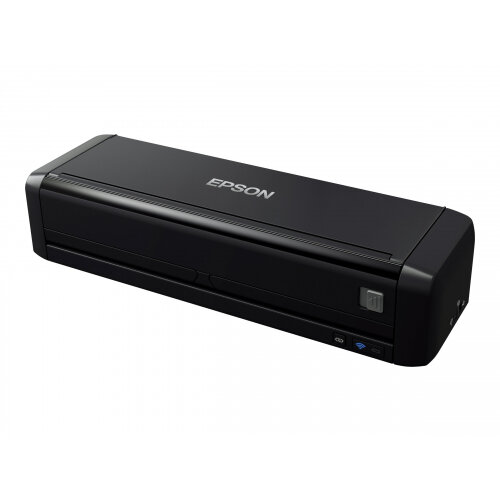 Epson WorkForce DS-360W - Document scanner - Duplex - A4/Legal - 600 dpi x 600 dpi - up to 25 ppm (mono) / up to 25 ppm (colour) - ADF (20 sheets) - up to 500 scans per day - USB 3.0, Wi-Fi(n)