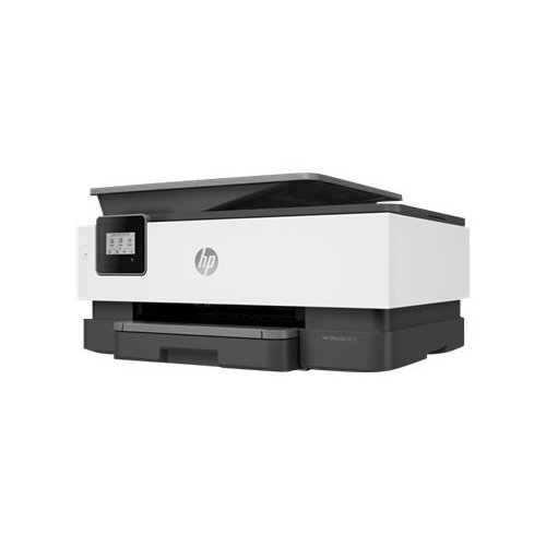 HP Officejet 8012 All-in-One - Multifunction printer - colour - ink-jet - A4 (210 x 297 mm), Legal (216 x 356 mm) (original) - A4/Legal (media) - up to 28 ppm (copying) - up to 28 ppm (printing) - 225 sheets - Wi-Fi(n) - light basalt