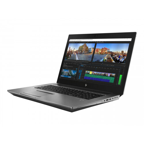 HP ZBook 17 G5 Mobile Workstation - Xeon E-2186M / 2.9 GHz - Win 10 Pro for Workstations 64-bit - 32 GB RAM - 512 GB SSD NVMe, TLC - 17.3&uot; IPS 1920 x 1080 (Full HD) - Quadro P3200 - Wi-Fi, Bluetooth - turbo silver - kbd: UK