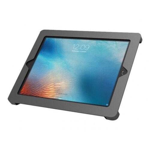 Compulocks Axis iPad POS Enclosure - Enclosure for Apple iPad Air / iPad Air 2 / iPad / iPad Pro 9.7 - black - screen size: 9.7&uot; - wall-mountable, surface mountable - for Apple 9.7-inch iPad; 9.7-inch iPad Pro; iPad Air; iPad Air 2