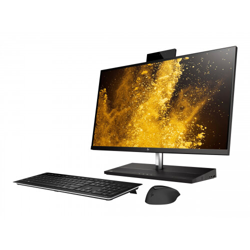 HP EliteOne 1000 G2 - All-in-one - 1 x Core i5 8500 / 3 GHz - RAM 8 GB - SSD 256 GB - NVMe - UHD Graphics 630 - GigE, Bluetooth 5.0 - WLAN: 802.11a/b/g/n/ac, Bluetooth 5.0 - Win 10 Pro 64-bit - monitor: LED 27&uot; 3840 x 2160 (Ultra HD 4K) - keyboard: U