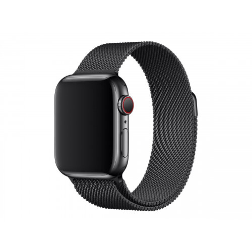 Apple 40mm Milanese Loop - Watch strap - 130-180 mm - space black - for Watch (38 mm, 40 mm)