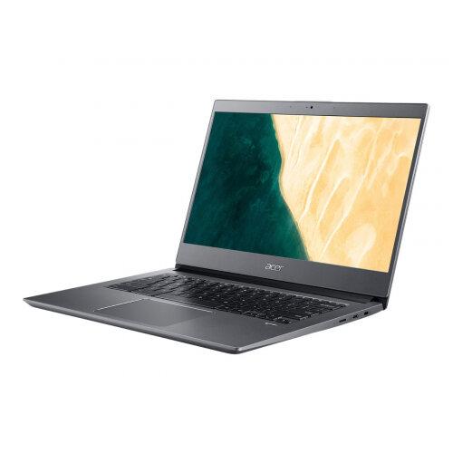 Acer Chromebook 714 CB714-1W-552W - Core i5 8250U / 1.6 GHz - Chrome OS - 8 GB RAM - 128 GB eMMC - 14&uot; IPS 1920 x 1080 (Full HD) - UHD Graphics 620 - Wi-Fi, Bluetooth - grey - kbd: UK