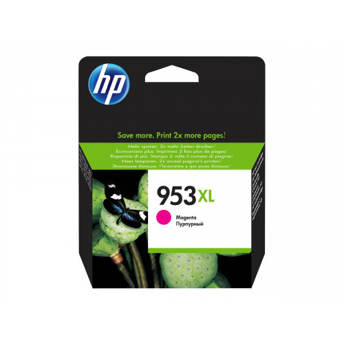 HP 953XL - 20.5 ml - High Yield - magenta - original - ink cartridge - for Officejet Pro 7720, 7730, 7740, 8218, 8710, 8715, 8720, 8725, 8730, 8740, 8745