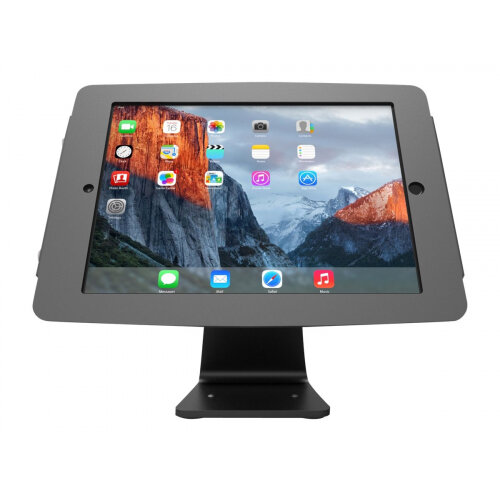 Compulocks Space 360 - Stand for Apple iPad Pro - lockable - high-grade aluminium - black - counter top - for Apple 10.5-inch iPad Pro