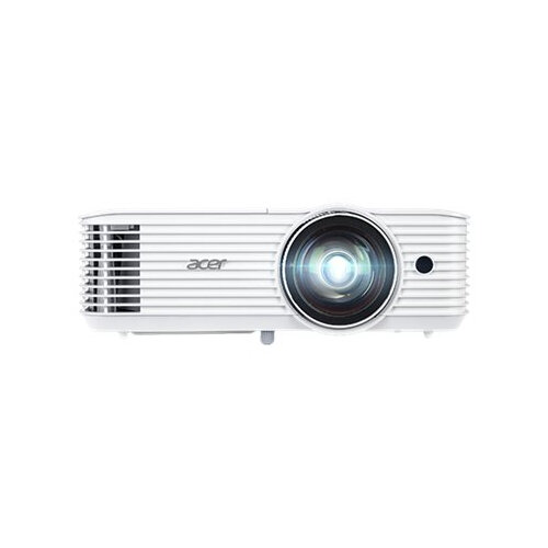 Acer S1386WH - DLP projector - 3D - 3600 ANSI lumens - WXGA (1280 x 800) - 16:10 - 720p - short-throw fixed lens