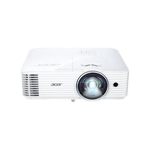Acer S1386WHN - DLP projector - 3D - 3600 ANSI lumens - WXGA (1280 x 800) - 16:10 - 720p - short-throw fixed lens - LAN