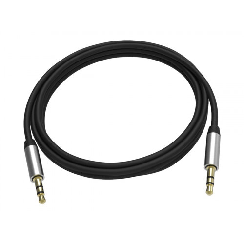 VISION Professional - Audio cable - stereo mini jack (M) to stereo mini jack (M) - 2 m - shielded - black