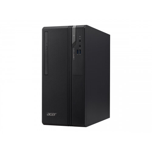 Acer Veriton Essential ES2 VES2730G - MT - 1 x Core i3 8100 / 3.6 GHz - RAM 4 GB - HDD 1 TB - DVD-Writer - HD Graphics 630 - GigE - Win 10 Pro 64-bit - monitor: none