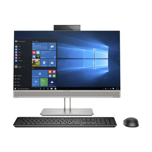HP EliteOne 800 G5 - All-in-one - 1 x Core i7 9700K / 3.6 GHz - RAM 8 GB - SSD 512 GB - NVMe - UHD Graphics 630 - GigE, Bluetooth 5.0 - WLAN: 802.11a/b/g/n/ac, Bluetooth 5.0 - Win 10 Pro 64-bit - monitor: LED 23.8&uot; 1920 x 1080 (Full HD) - keyboard: U