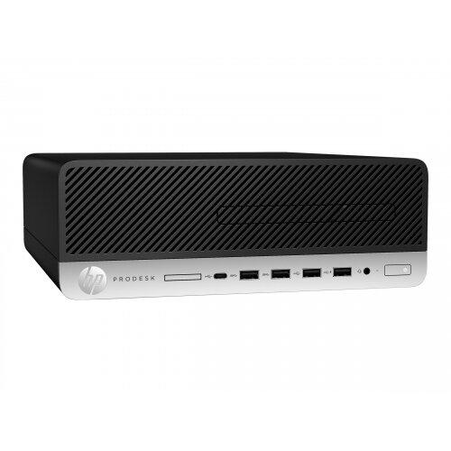 HP ProDesk 600 G5 - SFF - 1 x Core i5 9500 / 3 GHz - RAM 8 GB - HDD 500 GB - UHD Graphics 630 - GigE - Win 10 Pro 64-bit - monitor: none - keyboard: UK