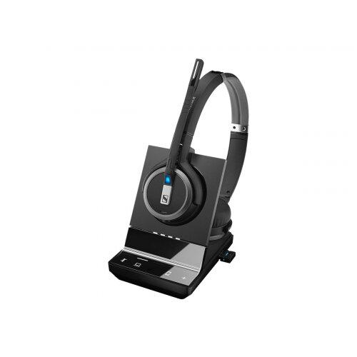 Sennheiser SDW 5064 - Headset system - on-ear - DECT - wireless - UK