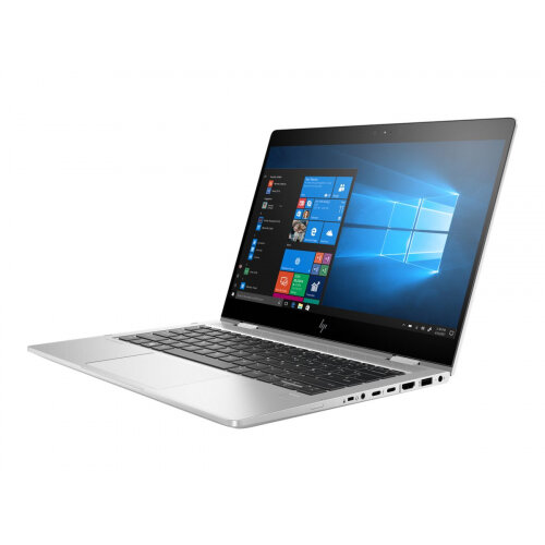 HP EliteBook x360 830 G6 - Flip design - Core i5 8265U / 1.6 GHz - Win 10 Pro 64-bit - 8 GB RAM - 256 GB SSD NVMe, TLC, HP Value - 13.3&uot; IPS touchscreen 1920 x 1080 (Full HD) - UHD Graphics 620 - NFC, Bluetooth, Wi-Fi - kbd: UK