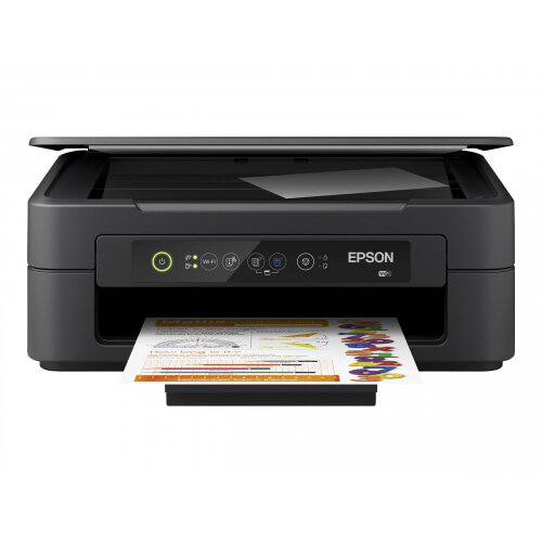 Epson Expression Home XP-2100 - Multifunction printer - colour - ink-jet - A4/Legal (media) - up to 27 ppm (printing) - 50 sheets - Wi-Fi - black