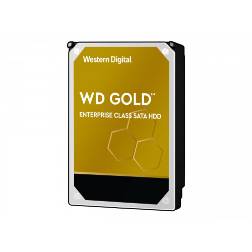 WD Gold Enterprise-Class Hard Drive WD102KRYZ - Hard drive - 10 TB - internal - 3.5&uot; - SATA 6Gb/s - 7200 rpm - buffer: 256 MB