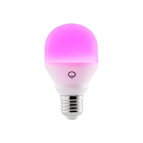 LIFX Mini Colour - LED light bulb - shape: A19 - B22 - 9 W - class A+ - 16 million colours - 2500-9000 K - pearl white