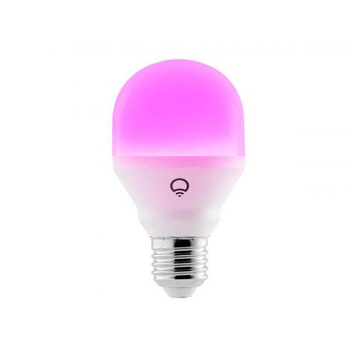 LIFX Mini Colour - LED light bulb - E27 - 9 W - class A+ - 16 million colours - 2500-9000 K - pearl white