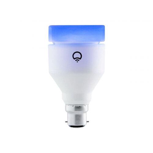 LIFX - LED light bulb - shape: A19 - B22 - 11 W (equivalent 75 W) - class A+ - 16 million colours - 2500-9000 K - pearl white Ref:5364297