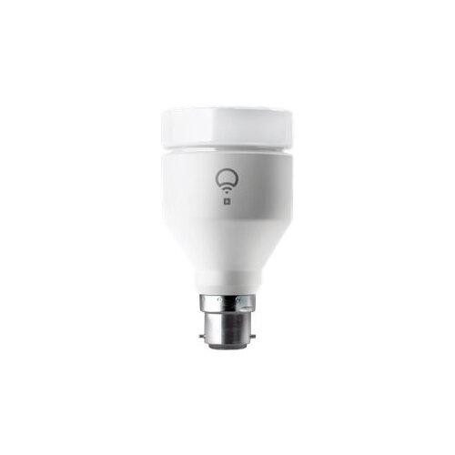 LIFX - LED light bulb - shape: A19 - B22 - 11 W (equivalent 75 W) - class A+ - 16 million colours - 2500-9000 K - pearl white Ref:5364299
