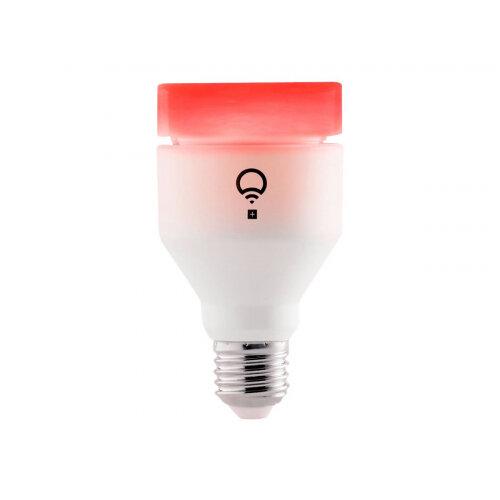 LIFX + - LED light bulb - shape: A19 - E27 - 13 W (equivalent 75 W) - class A+ - 16 million colours - 2500-9000 K - pearl white