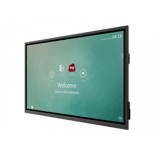 ViewSonic ViewBoard IFP7530 - 75&uot; Class IFP30 Series LED display - interactive digital signage - with optional slot-in PC capability and touchscreen (multi touch) - 4K UHD (2160p) 3840 x 2160