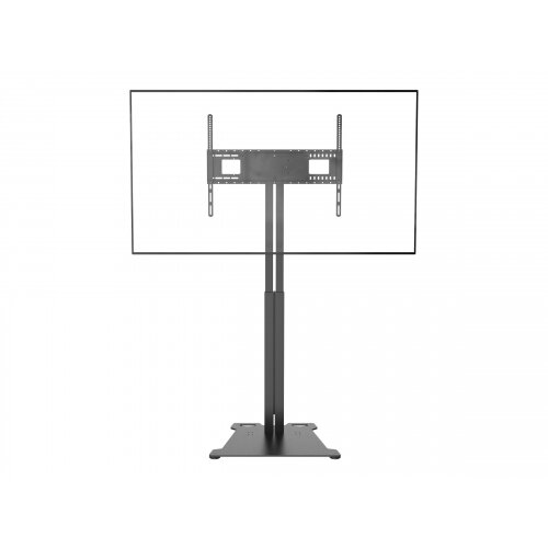 Vision VFM-F30 - Floor stand for LCD display (motorised) - steel - powder coated matte black - screen size: 47&uot;-90&uot; - mounting interface: up to 800 x 600 mm