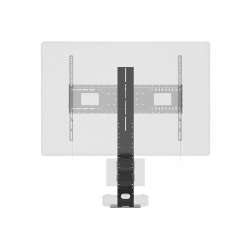 Vision VFM-WVC - Mounting component (shelf) for video conference camera - cold-rolled steel - black - mounting interface: 100 x 100 mm - wall-mountable - for Vision VFM-F10, F30, F40, W10, W4X4, W4X4T, W4X6, W6X4, W6X4T, W8X6, W8X6T