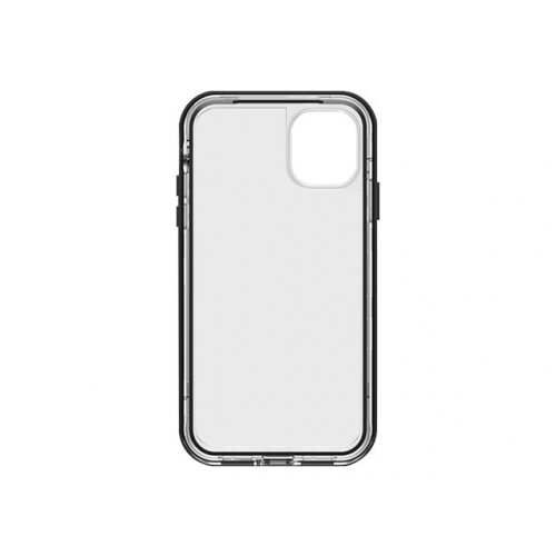 LifeProof N¨XT - Back cover for mobile phone - black/clear, black crystal - for Apple iPhone 11