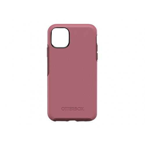 OtterBox Symmetry Series - Back cover for mobile phone - polycarbonate, synthetic rubber - beguiled rose pink - for Apple iPhone 11