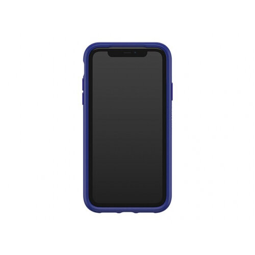 OtterBox Symmetry Series - Back cover for mobile phone - polycarbonate, synthetic rubber - sapphire secret blue - for Apple iPhone 11