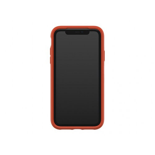 OtterBox Symmetry Series - Back cover for mobile phone - polycarbonate, synthetic rubber - risk tiger red - for Apple iPhone 11