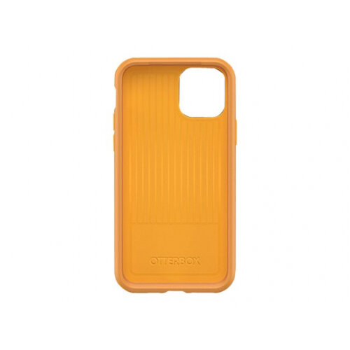 OtterBox Symmetry Series - Back cover for mobile phone - polycarbonate, synthetic rubber - aspen gleam yellow - for Apple iPhone 11 Pro