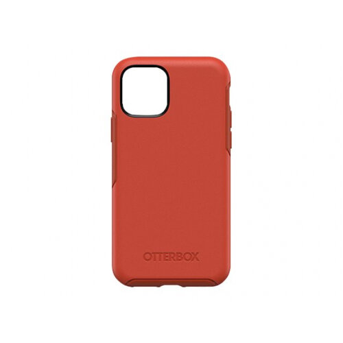 OtterBox Symmetry Series - Back cover for mobile phone - polycarbonate, synthetic rubber - risk tiger red - for Apple iPhone 11 Pro