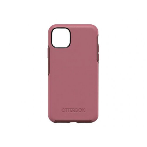 OtterBox Symmetry Series - Back cover for mobile phone - polycarbonate, synthetic rubber - beguiled rose pink - for Apple iPhone 11 Pro Max