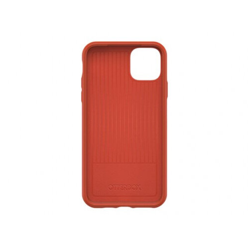 OtterBox Symmetry Series - Back cover for mobile phone - polycarbonate, synthetic rubber - risk tiger red - for Apple iPhone 11 Pro Max