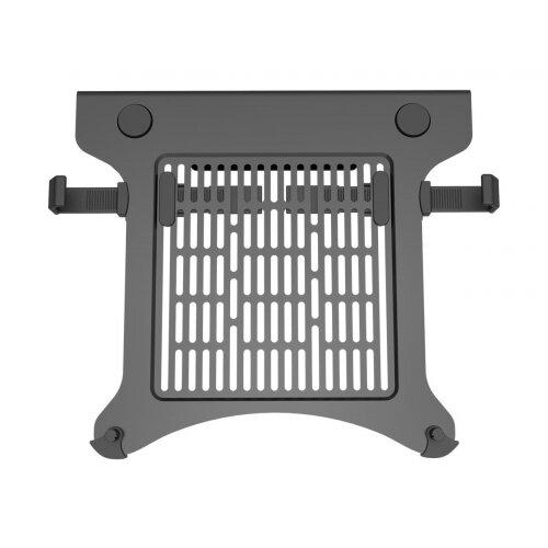 Vision VFM-DA3SHELFB - Mounting component (shelf) for notebook / tablet - aircraft-grade aluminium - matte black