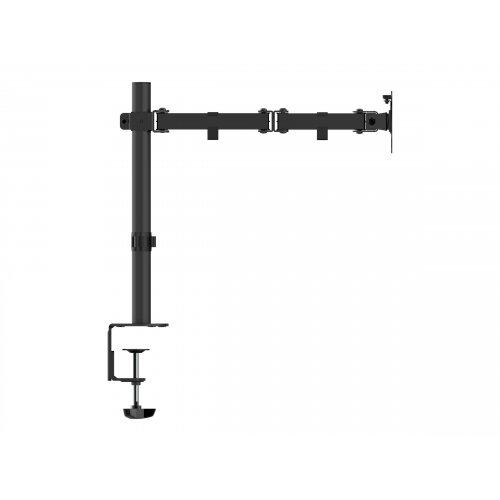 Vision VFM-DP - Desk mount for LCD display - steel - black - screen size: up to 32&uot;