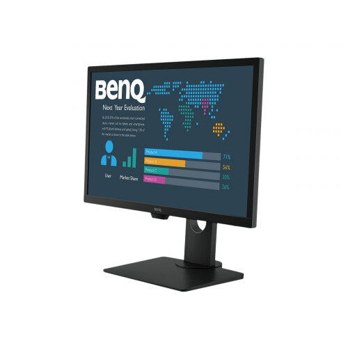 BenQ BL2483T - BL Series - LED monitor - 24&uot; - 1920 x 1080 Full HD (1080p) - TN - 250 cd/m&up2; - 1000:1 - 1 ms - HDMI, DVI-D, VGA - black