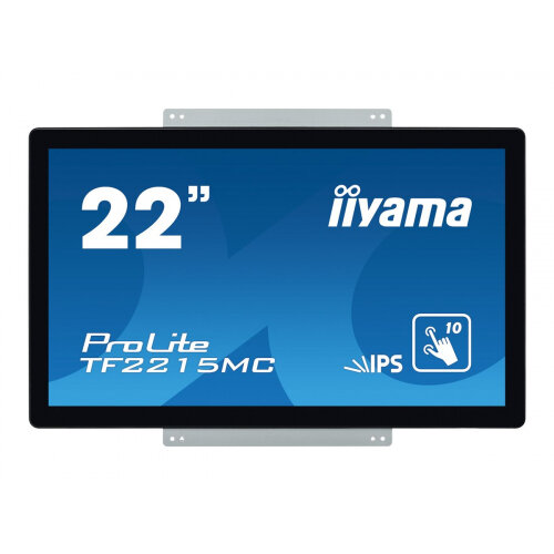iiyama ProLite TF2215MC-B2 - LED monitor - 22&uot; (21.5&uot; viewable) - open frame - touchscreen - 1920 x 1080 Full HD (1080p) - IPS - 350 cd/m&up2; - 1000:1 - 14 ms - HDMI, VGA, DisplayPort - black