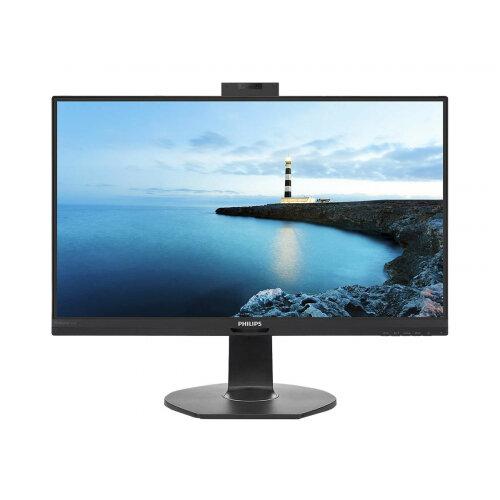Philips B Line 241B7QUBHEB - LED monitor - 24&uot; (23.8&uot; viewable) - 1920 x 1080 Full HD (1080p) - IPS - 250 cd/m&up2; - 1000:1 - 5 ms - 2xHDMI, DisplayPort, USB-C - speakers - black texture